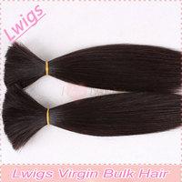 Free Shipping bulk hair/100% Brazilian virgin hair bulk / Real virgin hair without any chemical process / Best hair grade AAAAA