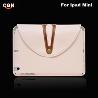 Luxury Soft Smart Case Back with Detachable Cover 360 Rotate Crazy Horse PU Leather case for iPad Mini Pink White Black Brown