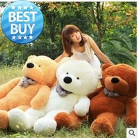 High Quality Low Price Plush Toys Large Size 100cm Teddy Bear Big Embrace Bear Doll Free Shipping