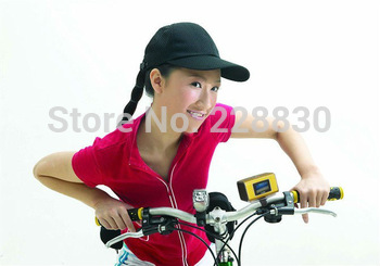 Mini Speaker MP3 Player portable speaker LCD screen FM Radio SD Slot for bicycle