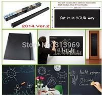 big discount! Chalk Board Blackboard Removable Vinyl Wall Sticker Decal Chalkboard 200 X 45cm