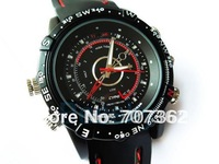 Free shipping  8GB waterproof Watch  camera,model R 202-8GB Hidden camera with 1pcs with retail box