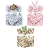 2pcs/set Hudson Baby  Blanket Plush Security Newborn Holds Animal Friend Bebe Carters Fleece Blanket Baby Blanket & Swaddling