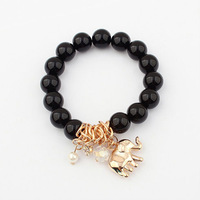 2013 New Arrival Free Shipping Lucky Elephant Handmade Bracelet Fashion Beads Bracelet Wholesale And Retail BL0143