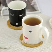 3pcs/lot Porcelain Color Changing Mug Ceramic Morning Mug
