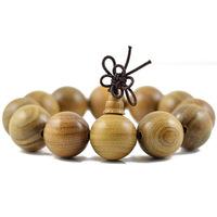 Green sandalwood bracelet beads vintage wood bracelet for men women drop shipping 0132