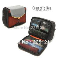 Free shipping waterproof Cosmetic bag big capacity toilet kit / travelling wash bag ,hanging toiletry kit