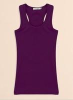 3 women's spaghetti strap vest candy color small spaghetti strap top 100% cotton plus size basic tank