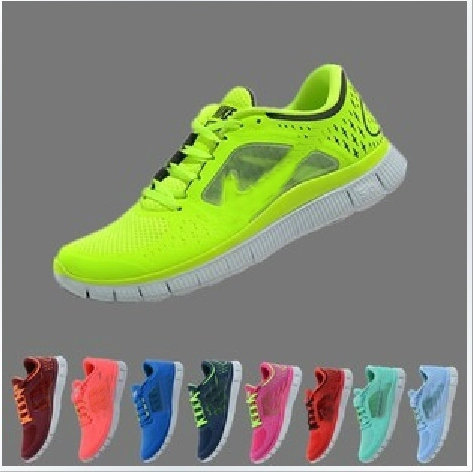 Hotsale Top Quality Newest Color 2013 NEW Free Run+3 5.0 Running Shoes Lovers Barefoot Sports Shoes New Deisgn Shoes(China (Mainland))