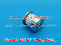 10pcs/pack Hot Sale 20 teeth MXL Timing pulley  Bore 5mm  DIY Ultimaker clone FREE Shippping