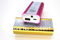 Free shipping for 4400mAh portable power bank /powr source /Usb battery bank,  best for travelling