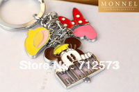 Z187 Adorable Minnie Mouse Multi Style Charms Keychain