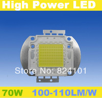 free shipping 70W High Power Cool Warm White 7700LM 70 Watt LED bead Lamp Bulb Chip Super Bright epistar 35mil chip led