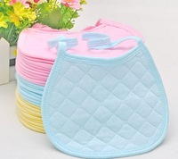 20pcs/lot Baby Products/Baby Bibs/Infant Saliva Towels /Baby CottonTied Bib/Round Corner Bib Cloths/Burp Cloths