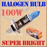2pcs H1 Super Bright White Fog Halogen Bulb Hight Power 100W Car Headlight Lamp parking