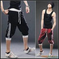 Hot 2013 summer men sports shorts! casual shorts! sports pants! S M L XL XXL black red blue grey half pants!