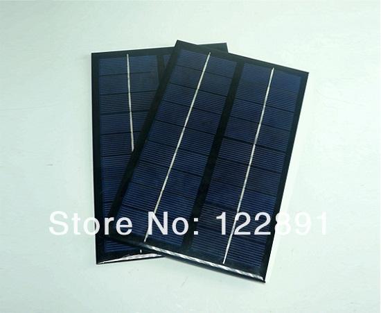 HOT Sale! 3W 9V Polycrystalline Solar Panel Mini Solar Cell Solar Module DIY Solar Charger 125*195*2MM 3pcs/lot Free Shipping(China (Mainland))