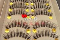 Handmade beautiful transparent exquisite handmade transparent 129 eyelashes false eyelashes