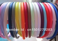 Free Shipping Boutique satin headband 22colors stock ,100pcs/lot