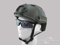 NEW EMERSON military FAST Helmet/include Protective Goggle PJ Type FG Green color free shiping