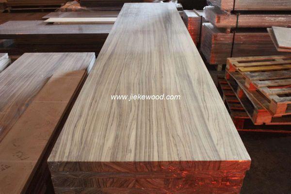 volledige solide notenbalk zebrano houten werkbladen aanrechtbladen ...