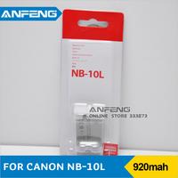 1Pcs/lot NB-10L Replacement Battery NB 10L 1360mAh New [10361|01|01]