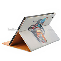 Free shipping 2013 new style Straw mat PU leather case tablet case mesh carrying bag for ipad case