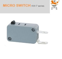 KW-7-0E SPST NC normally closed micro switch 2 pin, 16A  125VAC/250VAC  , 16A (15A)