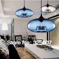 Niche modern glass pendant light by Jeremy Pyles Dining room Bar cristal lamp Fashion lighting fixture PL069