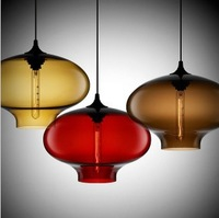 Modern Aurora Glass Pendant lights Jeremy Pyles Dining room Niche Pendant lamp PL035