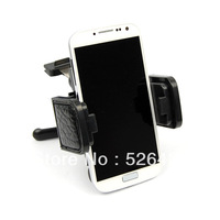 Universal Leather Car Air Vent Mount Holder For Samsung Galaxy S IV S4 i9500