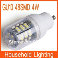 GU10 3528 SMD 48 AC 220V Warm White/White LED Bulb Lamp Free Shipping  80921 80922