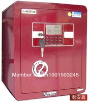 Safe Degital Cabinet Depository Cash Money Jewelry Gun Electronic Security Box For Home Office Hotel Red D-450
