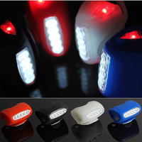 Cycling Accessories Silicone bicycle headlight LED warning light mountain bike Accessories lamp bright light bicicleta luz