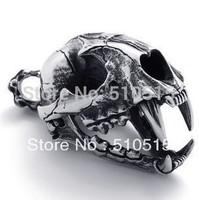 Fashion 3D Dinosaur Skull Fossil Necklace