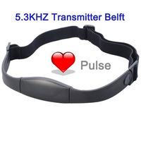 5.3KHZ Chest Strap Transmitter Belt For Heart Rate Monitor Sport Fitness Watch ,Wireless Pulse Measurement