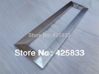 600mm Big Glass Door Handles for Glass Door Stainless Steel Brush Furniture Hardware Drawer Pulls Dresser handles