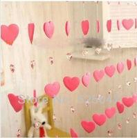 Non-woven curtains imitation crystal curtain real cartoon door curtain decoration Acrylic bead curtains
