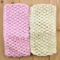 27 color Free Shipping 7cm Good Quality Baby Crochet Headband Whosesale 50pcs/lot H017