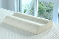 Natural Latex Contour Pillow for Adult Comfortable Wave Pillow Bedding, Free shipping 70*40*12/10cm