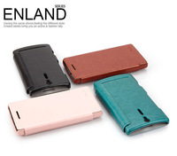 EngLand Style Side Flip PU Leather Cover Case For Sony Xperia S SL LT26 LT26i LT26ii New in box