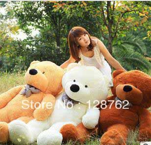 75cm New high qutity Low price teddy bear Plush toys big embrace bear doll christmas birthday gift(China (Mainland))
