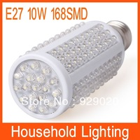 E27 10W 168 SMD F5 LED Corn Bulb Lamp Free Shipping 80670 80671