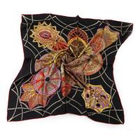 High Quality!  Free Shipping ! Wholesale !Ladies silk Printing  Fashion Square Scarf