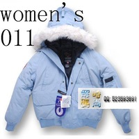 @  NewFree Shipping Big fur Mens & Womens Unsex bomber down Jacket ParkaBrand