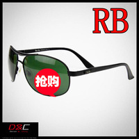 RB 3327 High quality luxury brand rb metal big sunglasses men fashion sunglasses brand designer 2013 gold stylish men eyeglasses