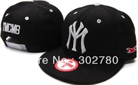 Ymcmb back button baseball cap casual hiphop hip-hop cap ny flat along the cap hiphop cap ny female hat