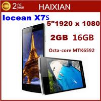 "Original Iocean X7S X7 Octa core mtk6592 Cell phone 5"" OGS 1920x1080p 16GB ROM MTK6592 1.7GHz CPU Android 4.2 OTG Dual SIM"