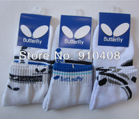 free shipping, Butterfly man  socks, table tennis sock