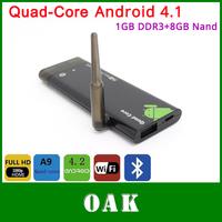 Free Shipping - CX919 Quad Core Android 4.1 TV Box 1GB DDR3+8GB RK3188 Bluetooth HDMI Wifi 1080P -  Dropshipping